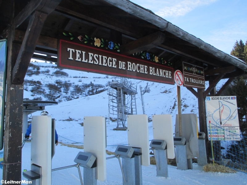 Télésiège fixe quatre places (TSF4) de Roche Blanche - Les Saisies (Espace Diamant) 530