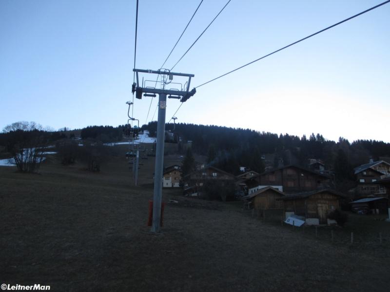 Télésiège à attaches débrayables 4 places (TSD4) de La Logère - Crest-Voland (Espace Diamant) 631