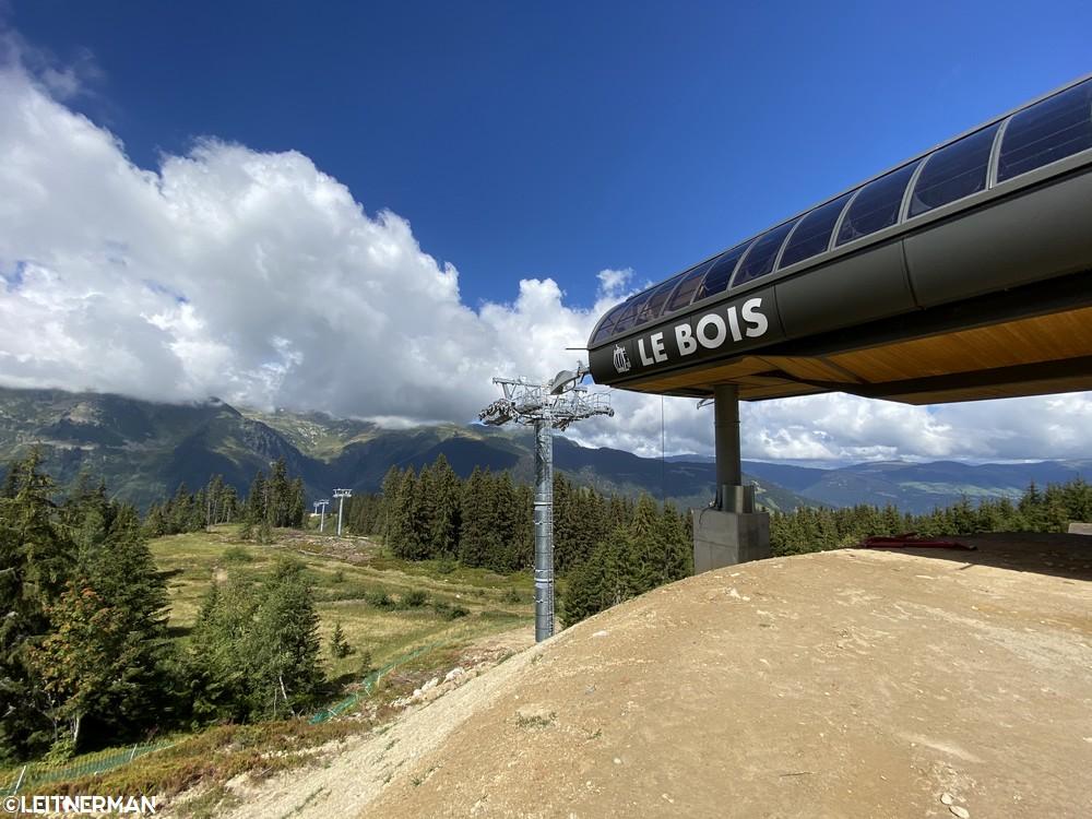 Construction Télécabine débrayable 10 places (TCD10) du Bois - Arêches 822