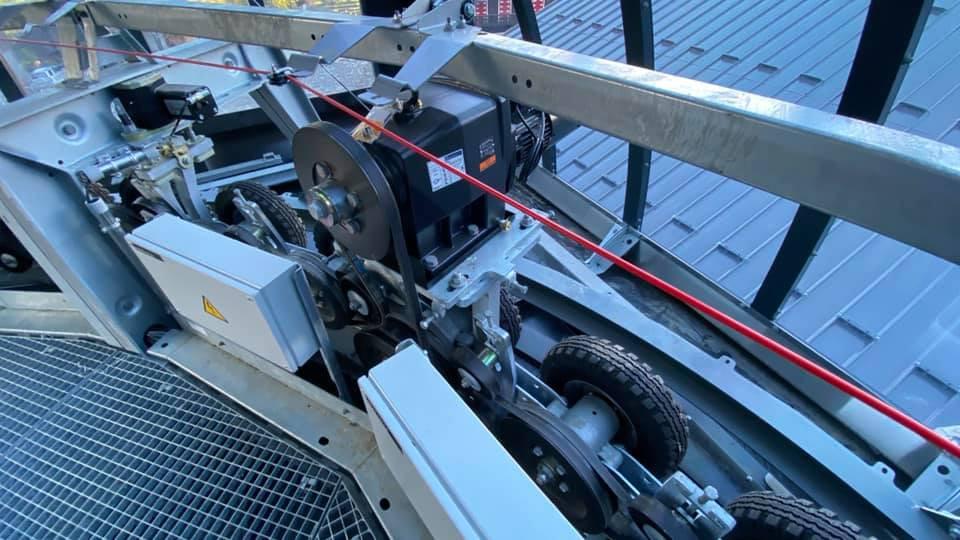 Remplacement télécabine débrayable de Vercland (Saix) - Samoëns 825