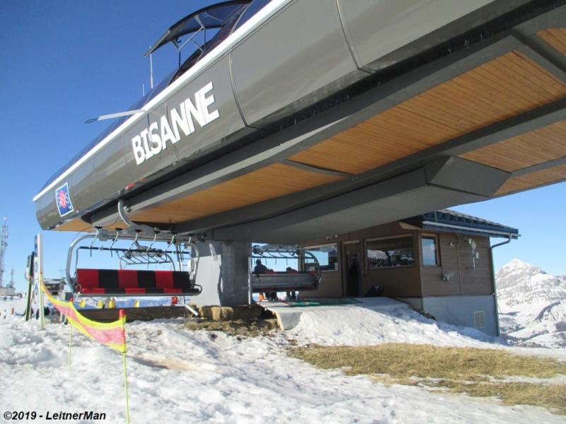 Télésiège débrayable 6 places (TSD6) de Bisanne | Les Saisies (Espace Diamant) 9112