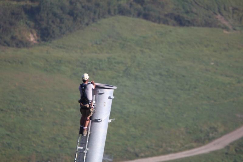 Construction télésiège débrayable (TSD6) du Mottet - Valmorel (Poma) 913