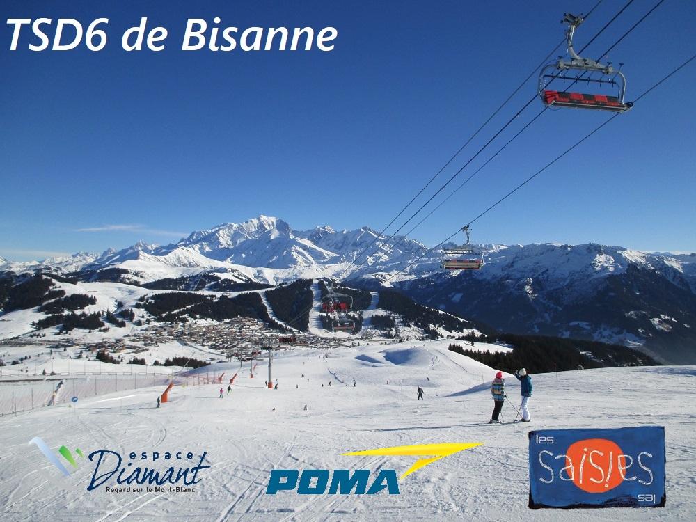 Télésiège débrayable 6 places (TSD6) de Bisanne | Les Saisies (Espace Diamant) Banniz13