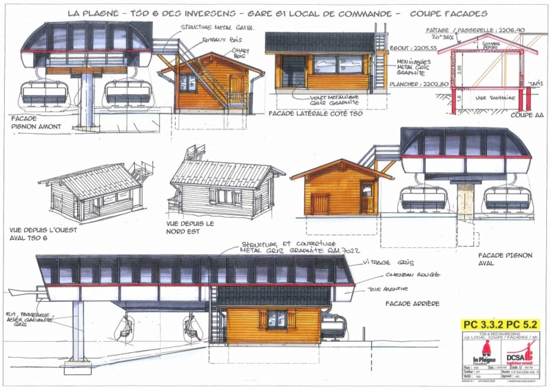 Construction TSD6 Inversens - La Plagne (Paradiski) Invers14