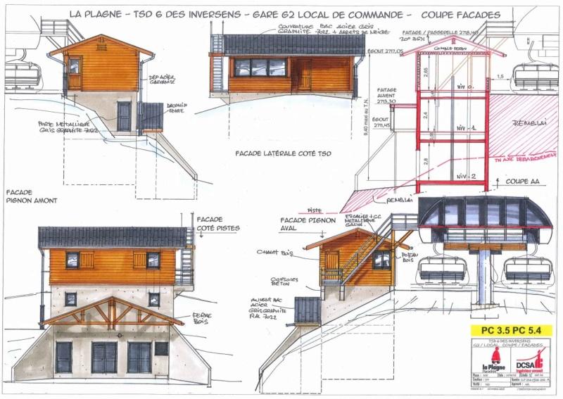 Construction TSD6 Inversens - La Plagne (Paradiski) Invers16