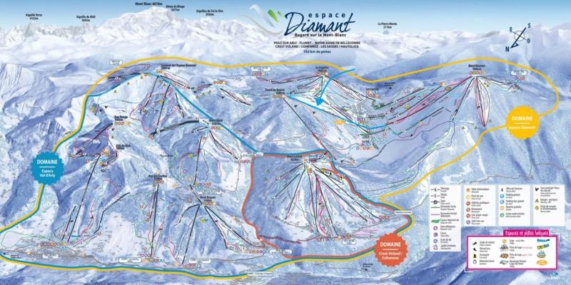 Télésiège débrayable 6 places (TSD6) du Chard du Beurre - Les Saisies (Espace Diamant) Pdp12