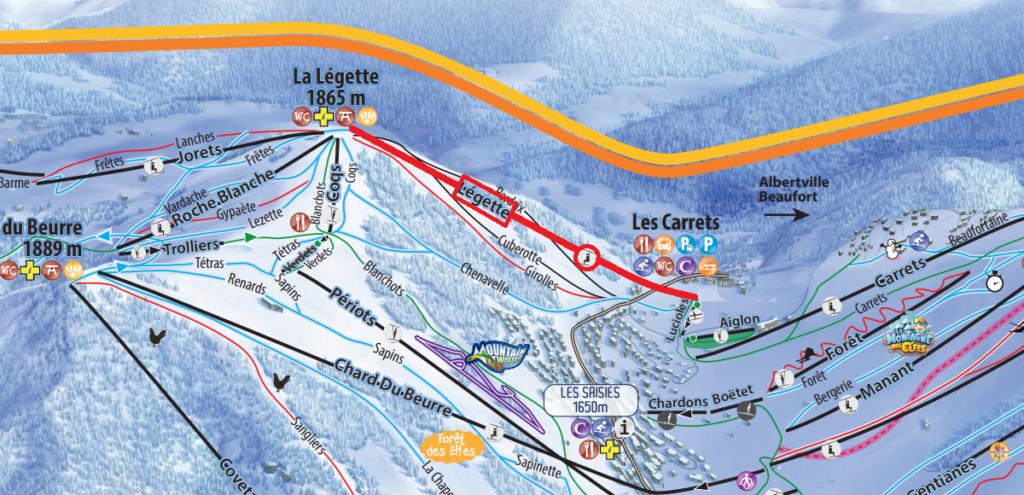 Télésiège débrayable 6 places (TSD6) de Légette - Les Saisies (Espace Diamant) Pdp211