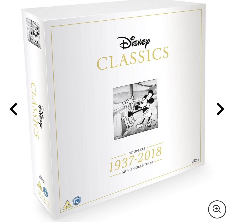 Coffret Bluray/DVD Intégrale Disney 1937-2018 (édition limitée) Coffre10