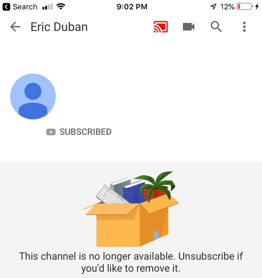 Eric Dubay's YouTube Channel Taken Down - Page 7 61817310