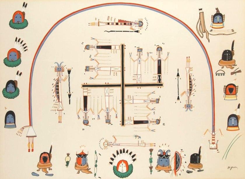 Flat Earth Maps  - Page 8 Navajo10