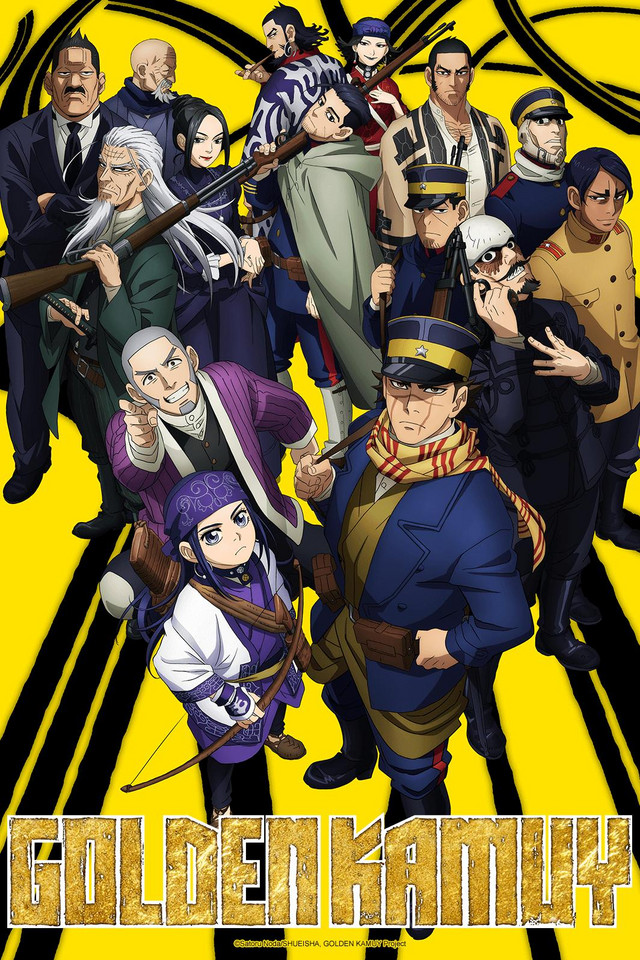 Golden Kamuy Cover210