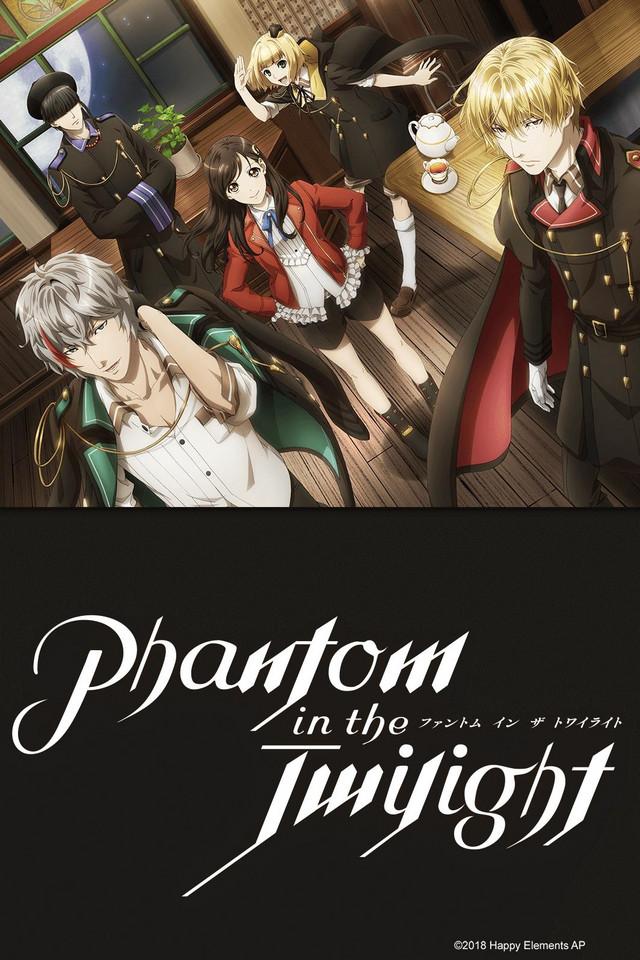 Phantom in the twilight Cover30