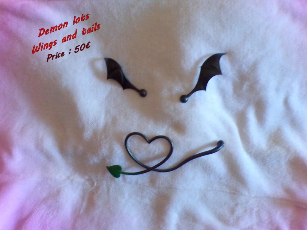 [V]☆DD head (ajout) /dollce head☆queue et ailes démon☆ NEWS! 125_0931