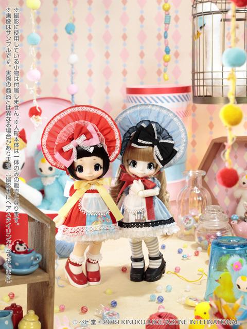 [Kikipop] Baby Bunka Girl: Torikago-chan & Kokeshi Akp00110