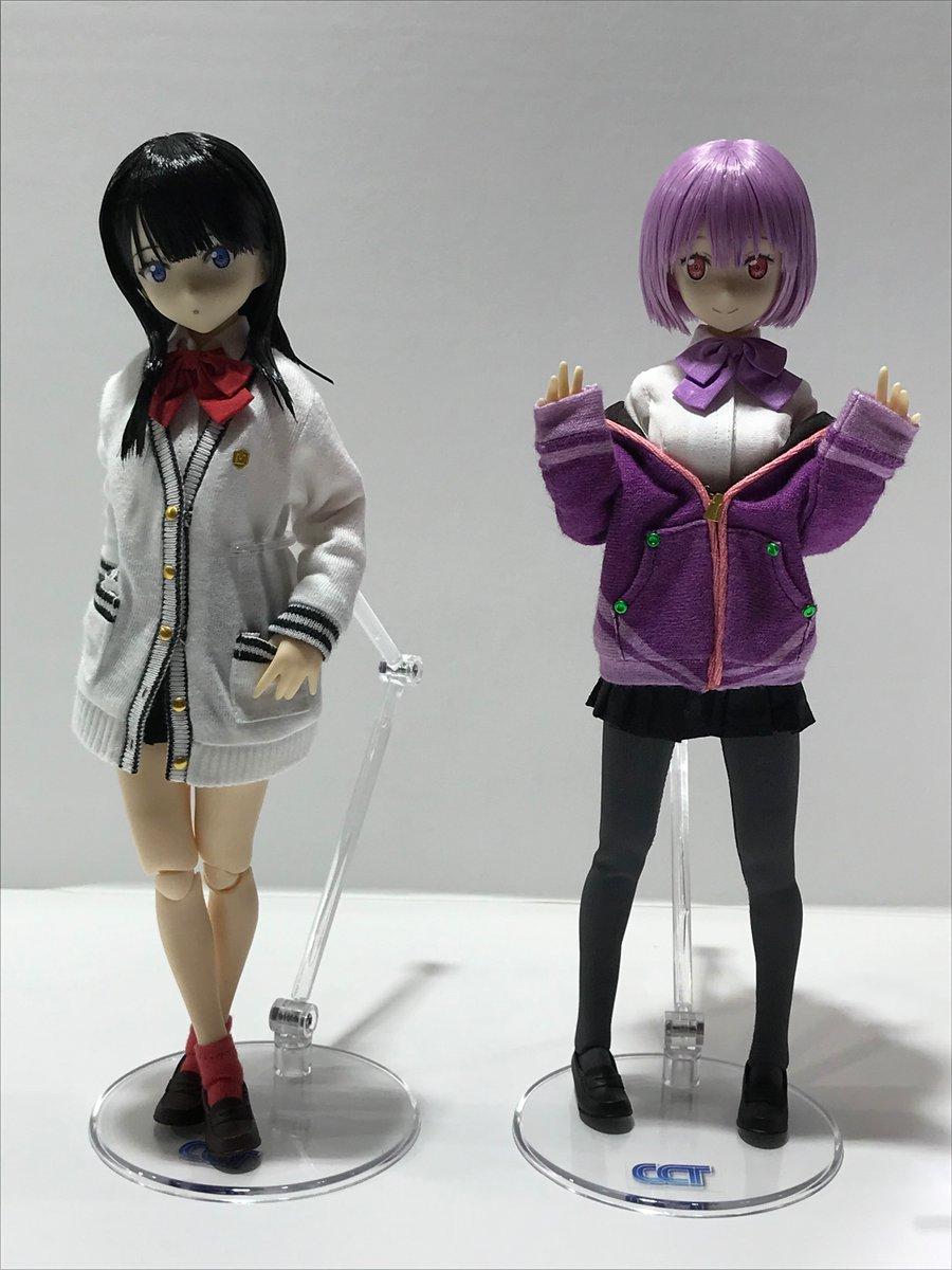 [Azone] Pure Neemo de Shinjou Akane et Takarada Rikka  [ SSSS Gridman ] Dzaiui12