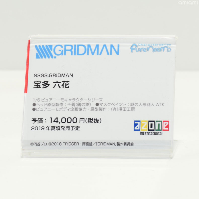 [Azone] Pure Neemo de Shinjou Akane et Takarada Rikka  [ SSSS Gridman ] Wf201911