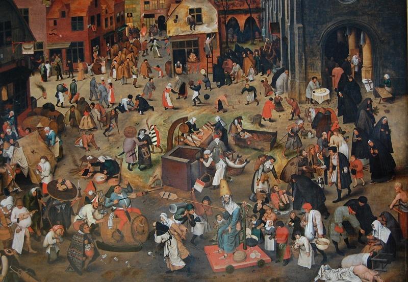 Pierre Brueghel le jeune /carême Pierre10