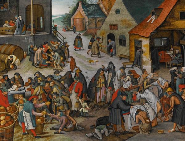 Pierre Brueghel le jeune /carême Pierre11