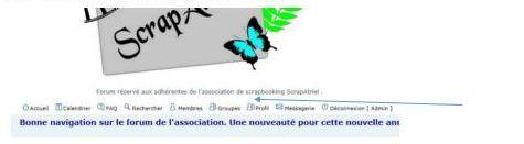 """Aide pour poster votre photo sur """"profil"""" A12"""