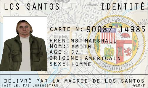 Candidature SMITH Marshall Identi10