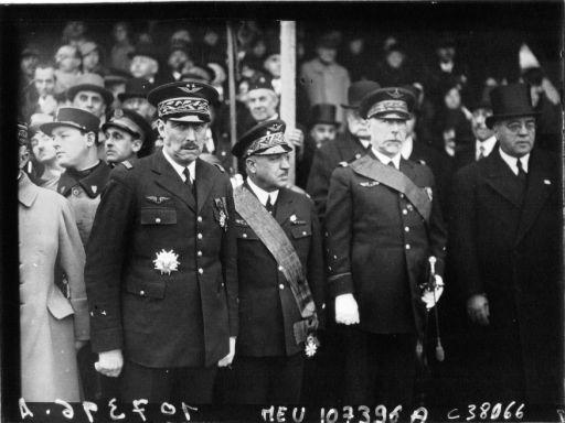 Les officiers généraux de l'armée de l'air 1939 1940 92005110