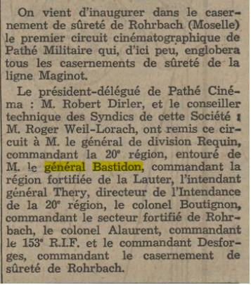 RFL : Région fortifiée de la Lauter Jounal10