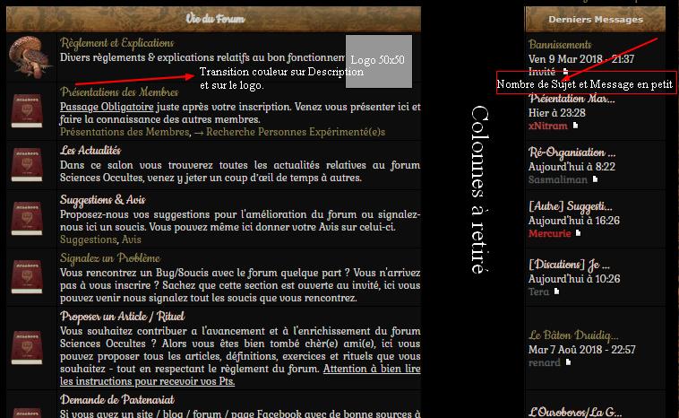 Retrait des colonne sujet et message + logo sur description de chaque salon Affcha10