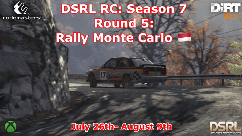 Round 5: Rally Monte Carlo  S7r510