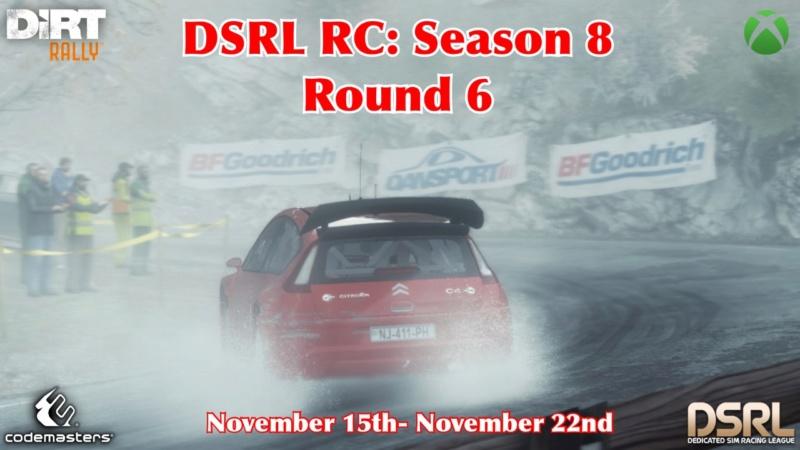Round 6: Rally Monte Carlo  S8r610