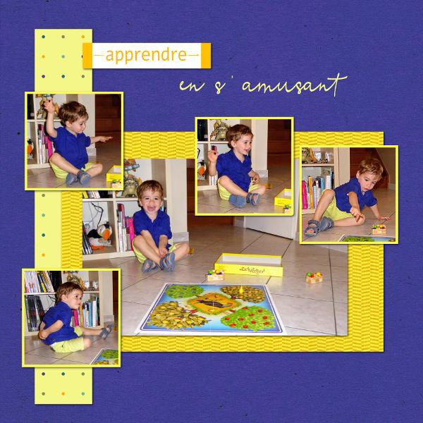 Pages réalisées avec le kit Découvrir Comprendre Savoir Maxime12