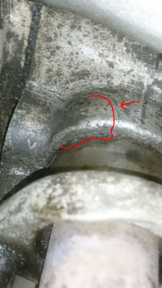 Cracked manifold!  Dsc_0110