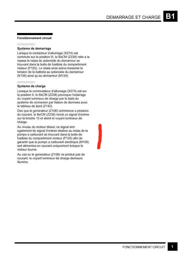 Fonctionnement de la pompe de gavage Relais10