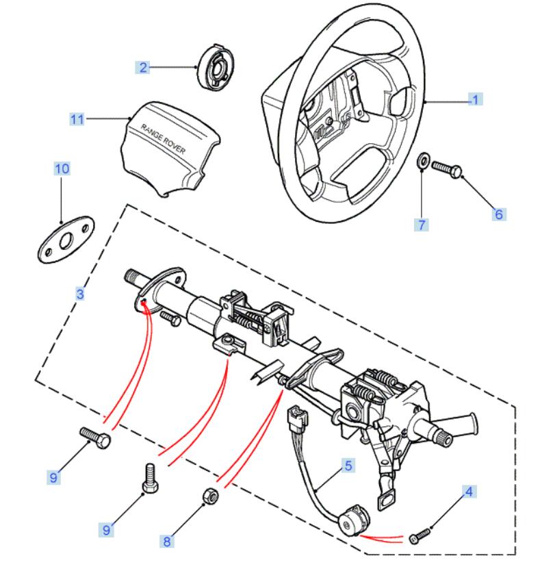 connecteur rotatif Volant10