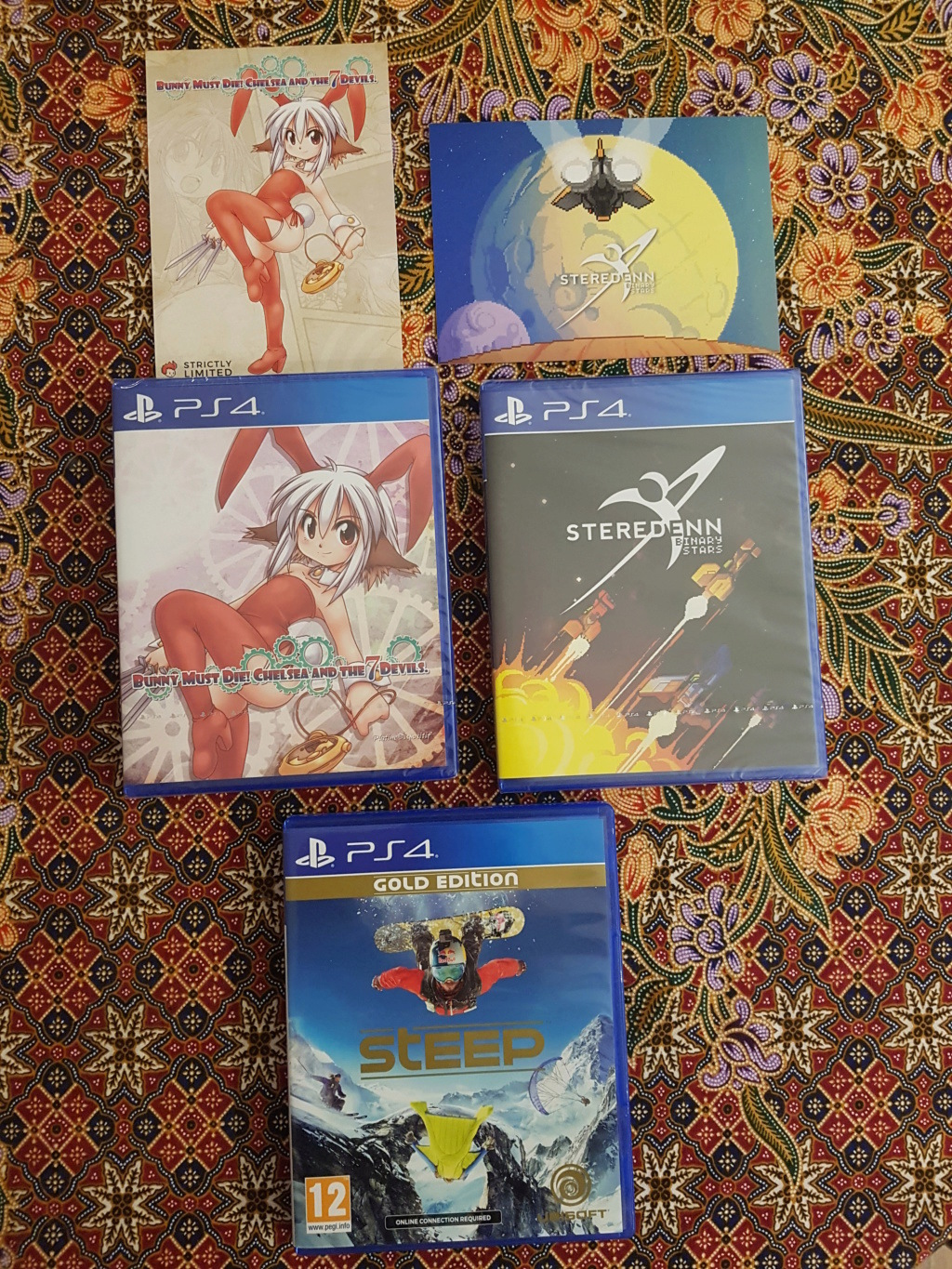 [VDS] ps4 , stricly limited run, ps3 20180957