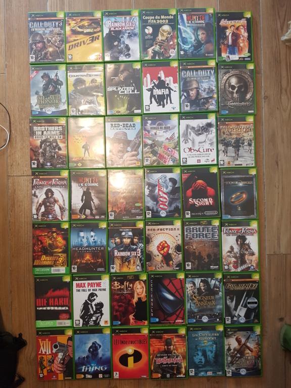 Re: [VDS] Du Xbox première génération ! baisse des prix 12/10 20180968