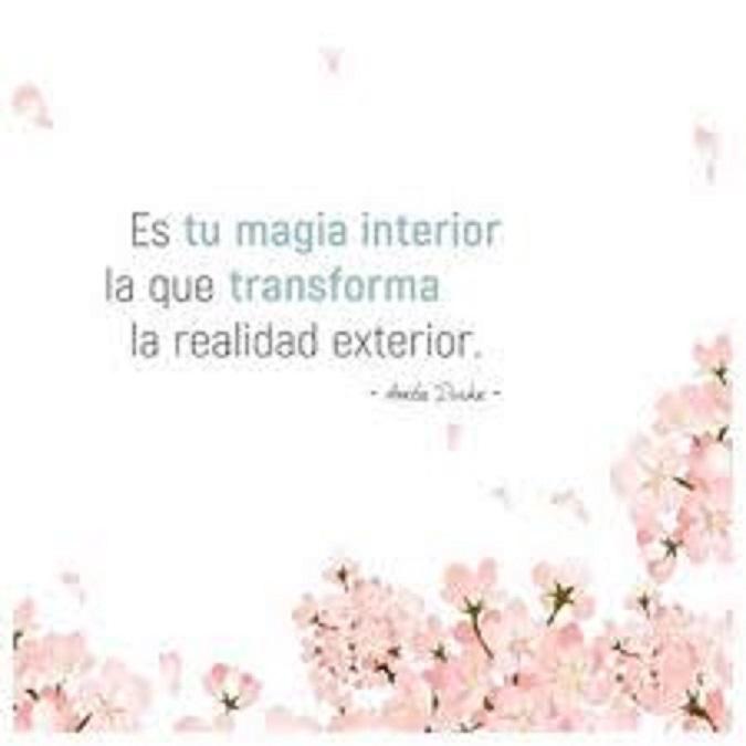 Realmente lo que transmites es lo que enamora. Magia10