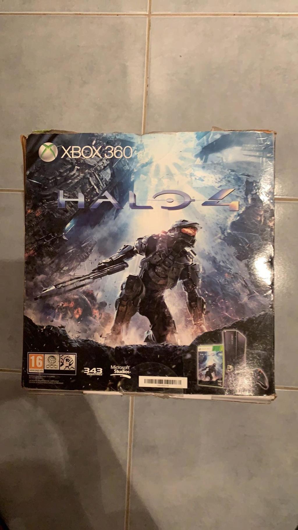 Estimation XBOX 360 NEUVE Pack Halo 4 50170510