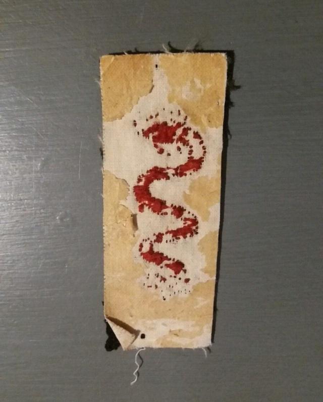 insignes à identifier serpent Id411