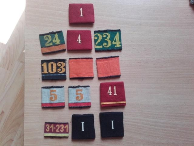 pattes d'épaule armée suisse S-l16014