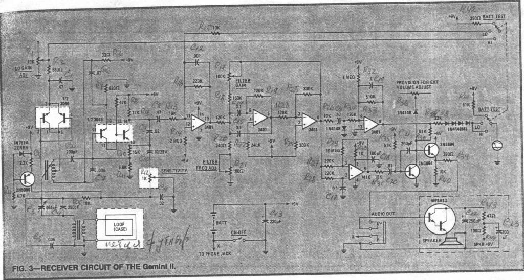 Busco Diagrama del Fisher Gemini II Sh0110