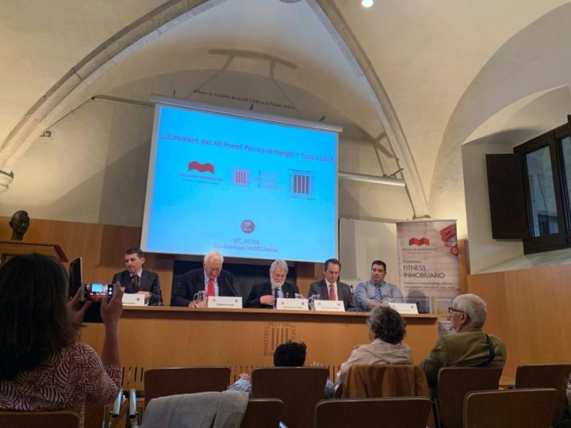 Ο Δημήτρης Καρλής (Καθηγητής του Τμήματος Στατιστικής του ΟΠΑ και Διευθυντης του Μεταπτυχιακού Στατιστικής) Βραβεύτηκε από την Καταλωνική Εταιρεία Οικονομικών 110