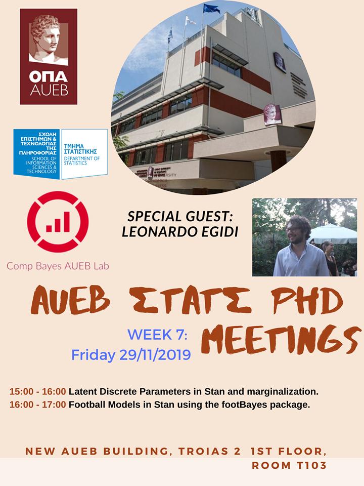AUEB Stats PhD Seminars 2019: Week 7 79006710