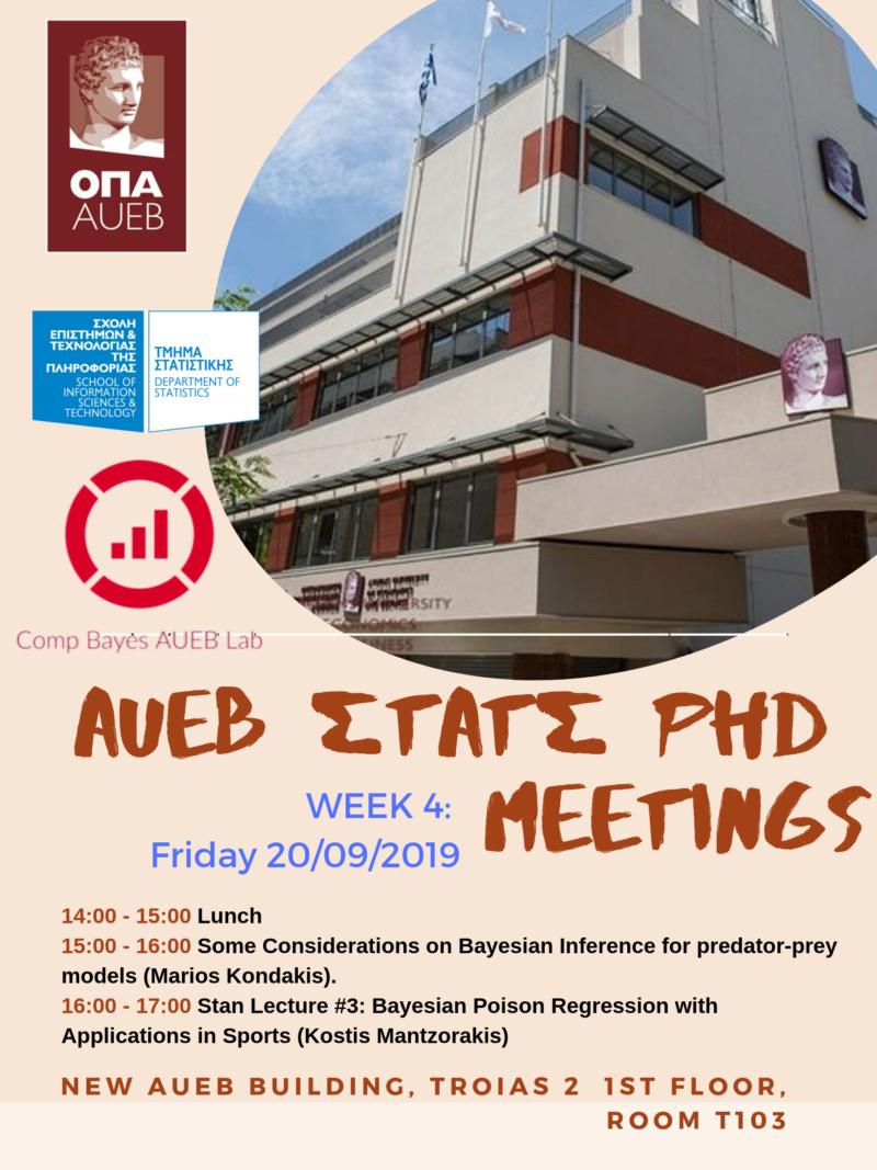 AUEB Stats PhD Seminars 2019: Week 4 Aueb_p12