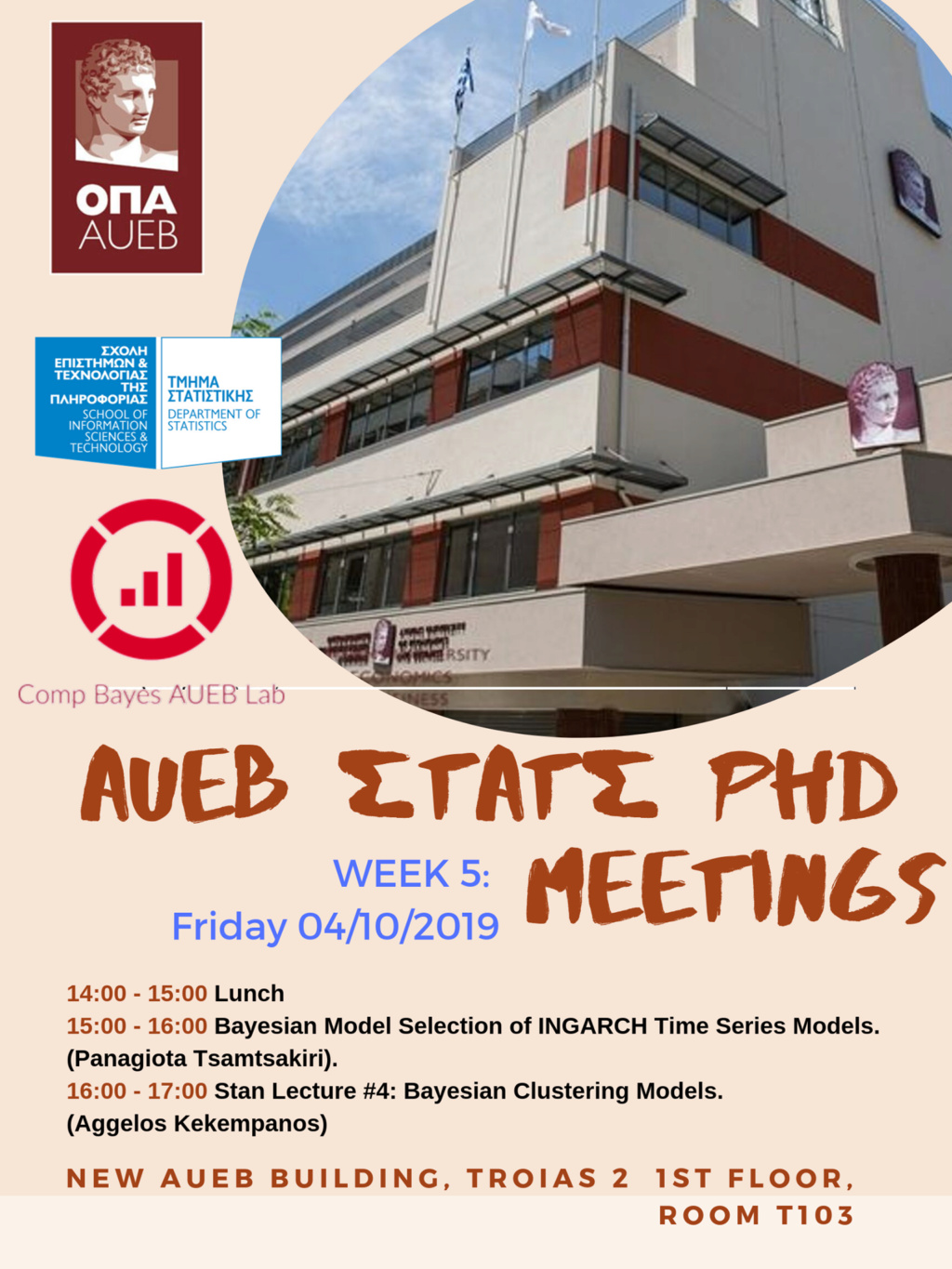 AUEB Stats PhD Seminars 2019: Week 5 Aueb_p13