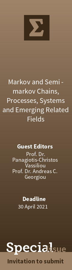"Invitation for the Special Issue entitled ""Markov and Semi-Markov Chains, Processes, Systems and Emerging Related Fields"" at Mathematics Markov11"