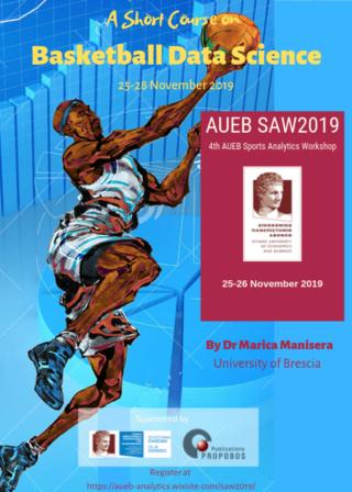 4th AUEB Sports Analytics Workshop (AUEB SAW2019)  Saw20115