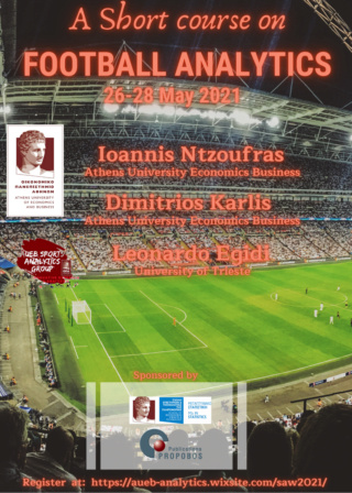 AUEB SAW2021 Short Course on Football Analytics Saw20213