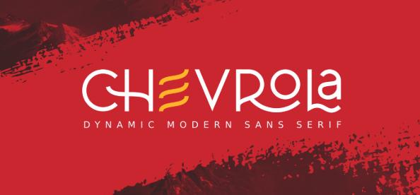 خط شيفرولاَ - Al Chevrola Modern Sans Font 2020-011