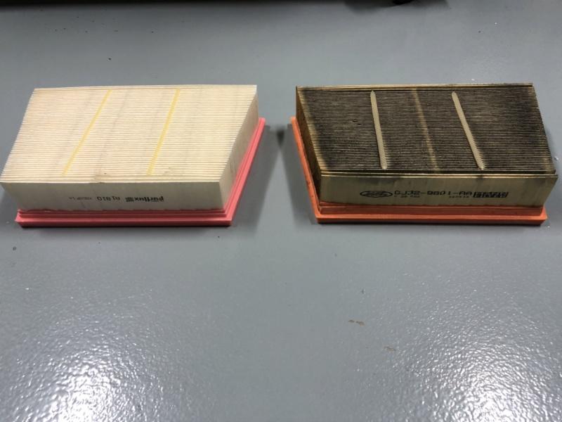 Cambio aceite, filtro aceite y filtro aire. Ingenium TD4 2,0 4x4 MY2016 5zqolh10