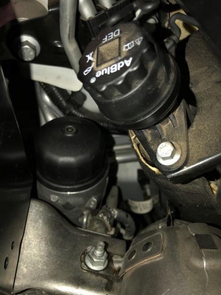 Cambio aceite, filtro aceite y filtro aire. Ingenium TD4 2,0 4x4 MY2016 Oemxon10